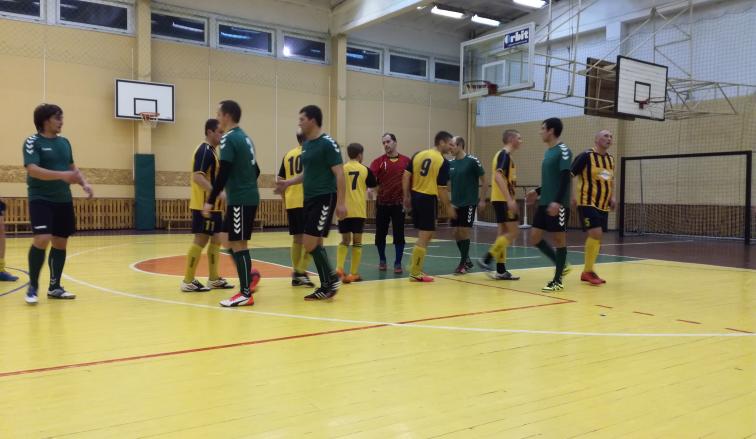 Panevėžio apskrityje sužaistas trečias futsal pirmenybių turas.